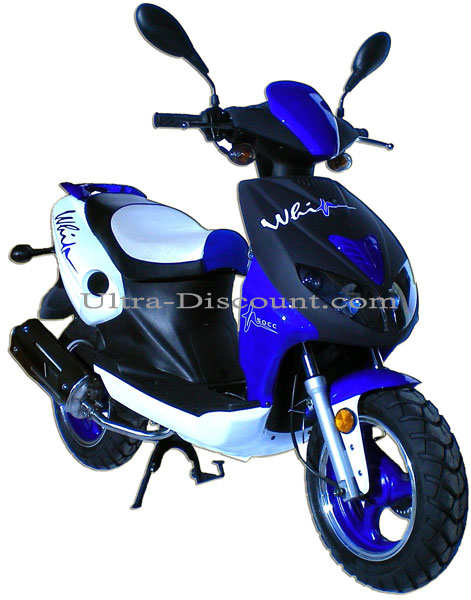 scooter viper r1 bleu 50cc moteur 4 temps scooter chinois 50cc ultra. Black Bedroom Furniture Sets. Home Design Ideas
