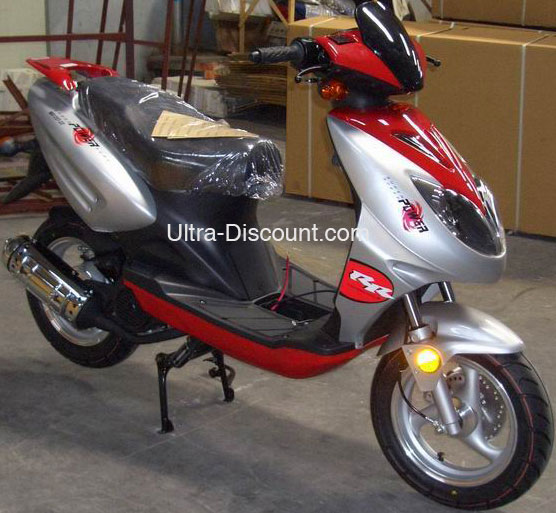 Scooter Chinois 125cc Rouge