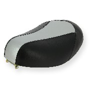 Selle adaptable sur mini scooter gris noir