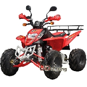 Quad Shineray 250cc Homologué 2 places Rouge