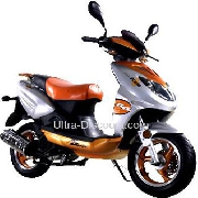 Scooters 125cc Orange