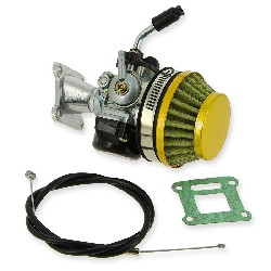 Kit carburateur 15mm (or) pour Polini 911 GP3