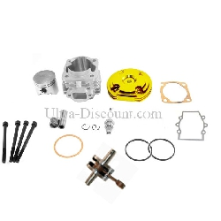 Kit 53cc 4 transferts + Vilebrequin Racing axe 10mm (type B OR)